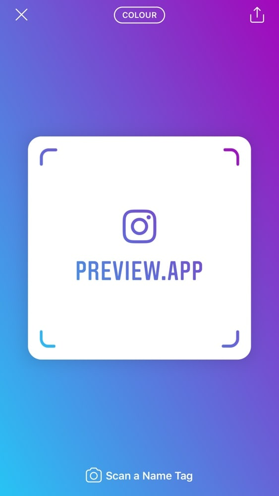 How to Use the Instagram Name Tag / QR Code (EVERYTHING you Need to