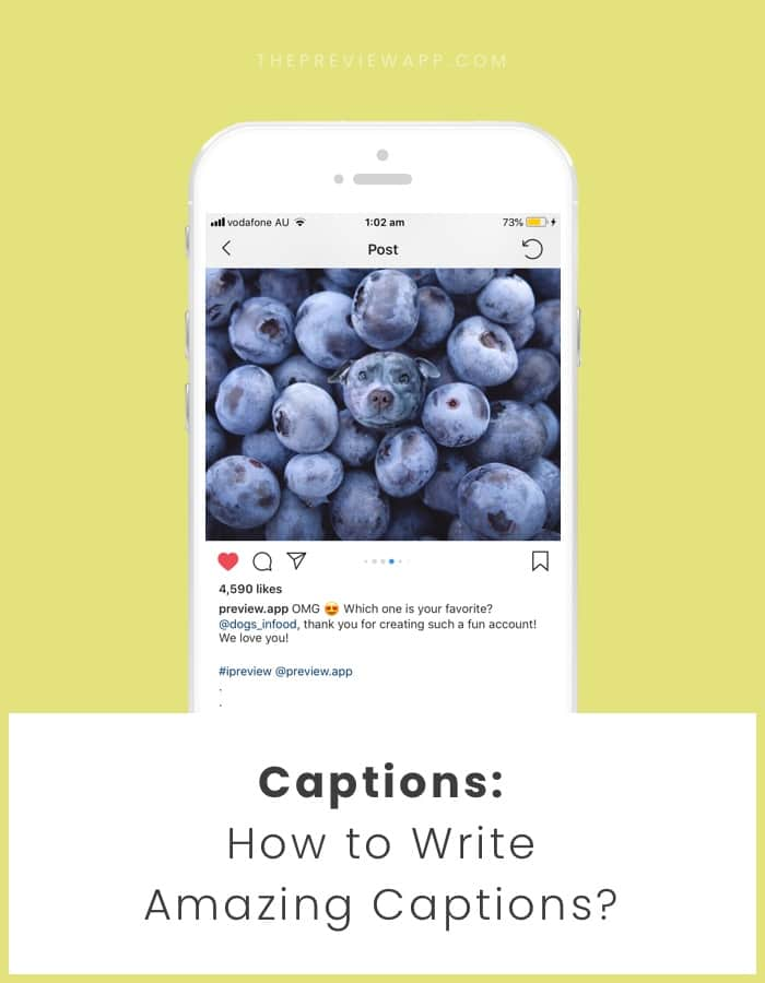 How to Write Instagram captions? Tips and ideas