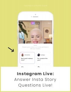 How to Answer Insta Story Q&A Questions during your Instagram Live?