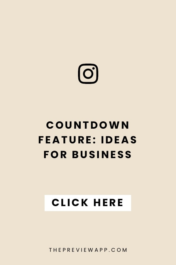 How to use the Countdown Insta Story feature? (+ awesome ideas)