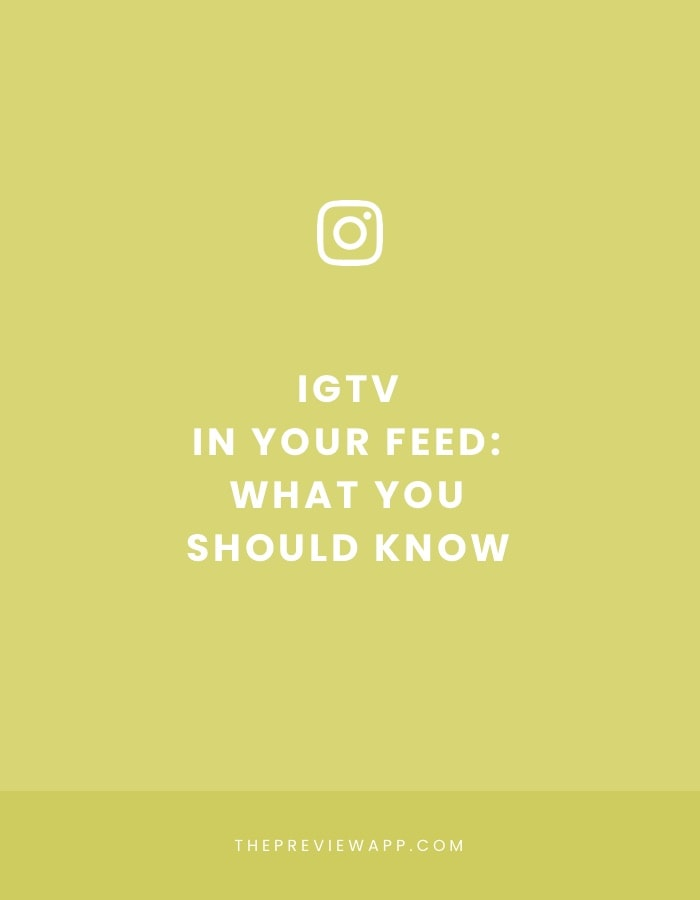 IGTV Videos in your Instagram Feed: 7 Things you Should Know