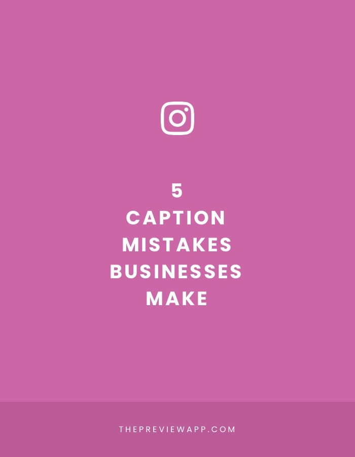 5 Instagram Caption Mistakes People Commonly Make And What To Do About It