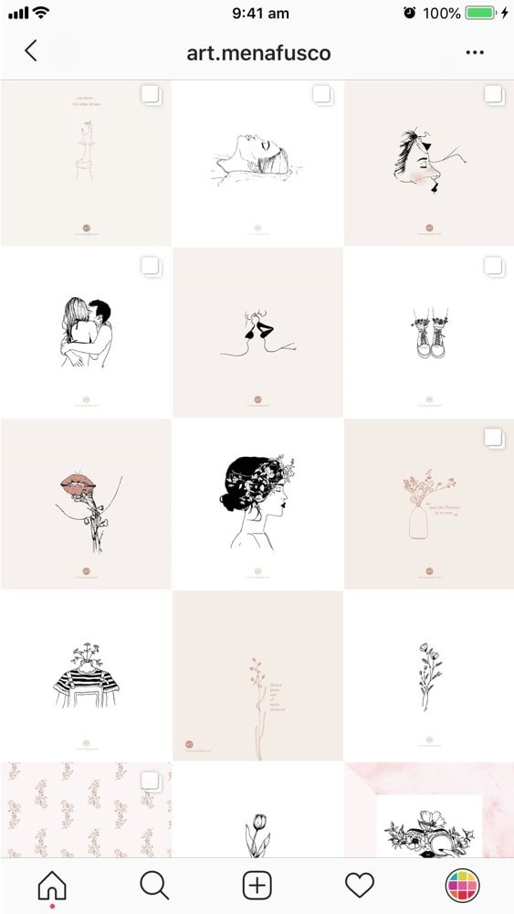 15 AMAZING Instagram Feed ideas for Artists