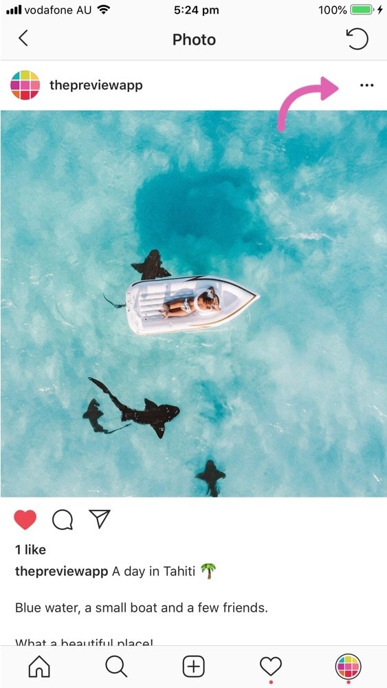 How to Hide a Post from your Instagram Feed?