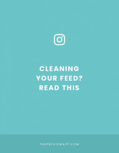 Should you Delete Old Instagram Photos and Restart your Feed?