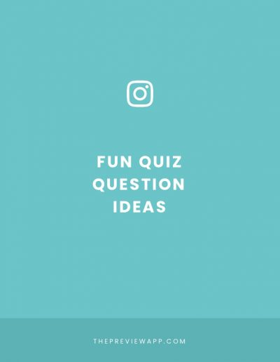 +50 Insta Story Quiz Question ideas (Personal, Travel & Business)