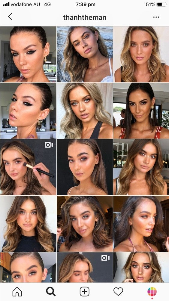 Best hashtags to use on instagram for makeup