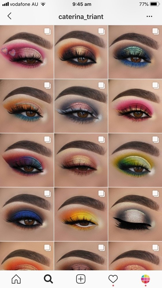 Best Instagram Feed ideas for Makeup Artists