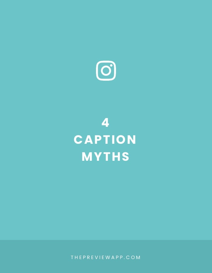 The 4 Biggest Instagram Captions Myths – Busted