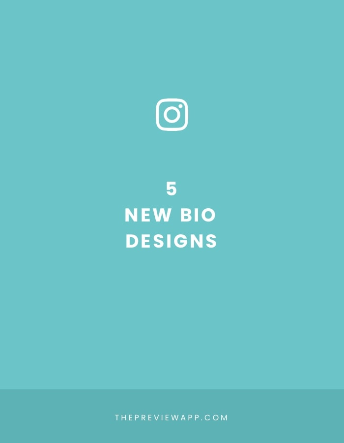 Instagram is Testing these 5 New Instagram Bio Designs