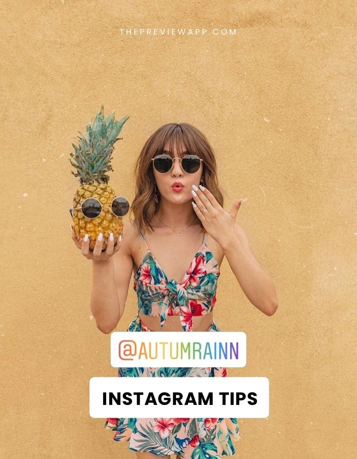 @autumrainn Instagram Tips: How to grow fast, Editing, Photography tips + more