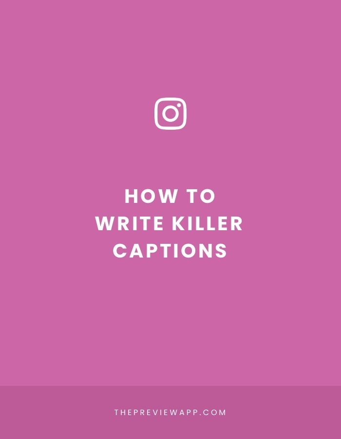 How to write KILLER Instagram captions? 4 tips.