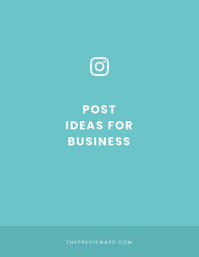 Creative Instagram Post ideas for Business