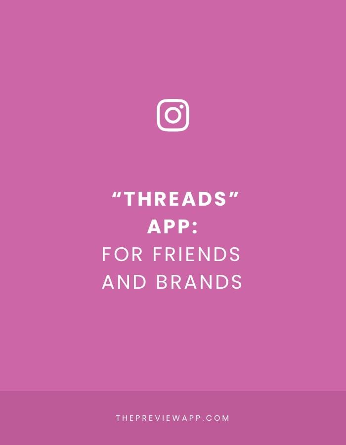 """Instagram """"Threads"""" App: Explained"""