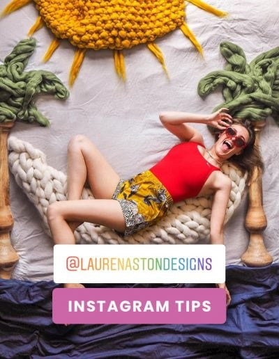 Behind the Feed with @laurenastondesigns
