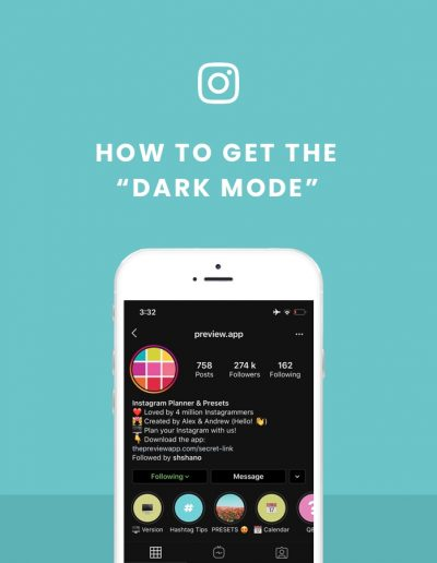 How to get Instagram Dark Mode? iPhone + Android tutorial