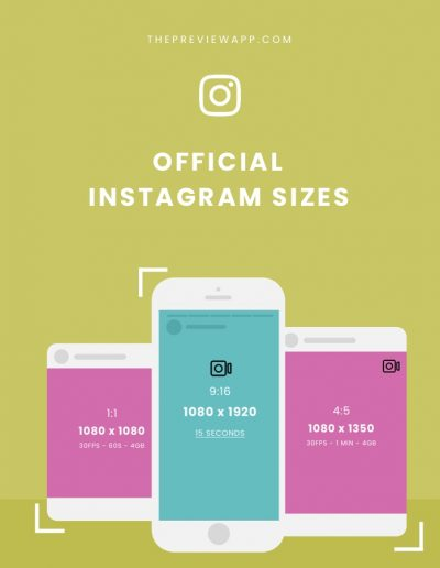 The Best Instagram Sizes