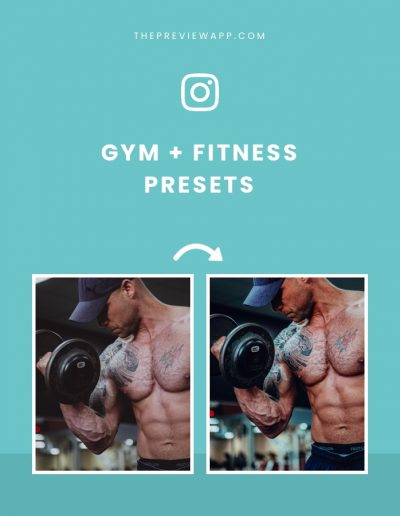 Gym + Fitness Presets in Preview App