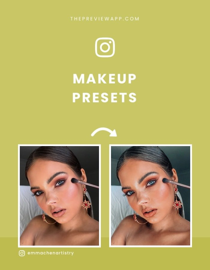 Presets for Makeup Artists
