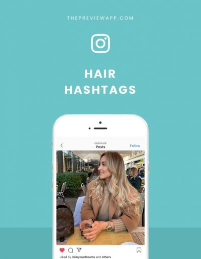 Instagram Hashtags for Hair, Hairdressers, Barbers and Hair Salons