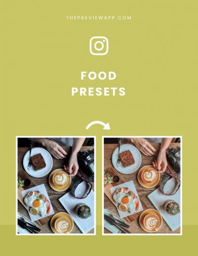 Presets for Food Bloggers