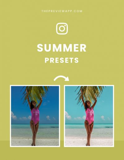 Summer and Beach Presets