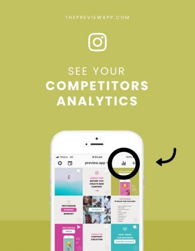 Instagram Competitor Analysis Tool: Preview App