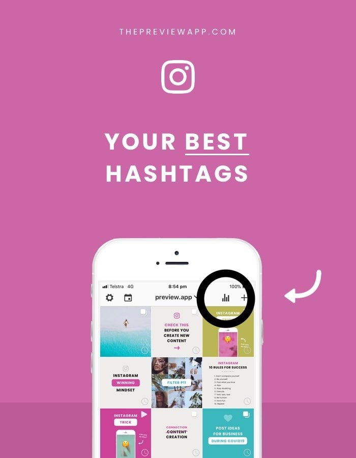 Instagram Hashtag Analytics: PREVIEW App