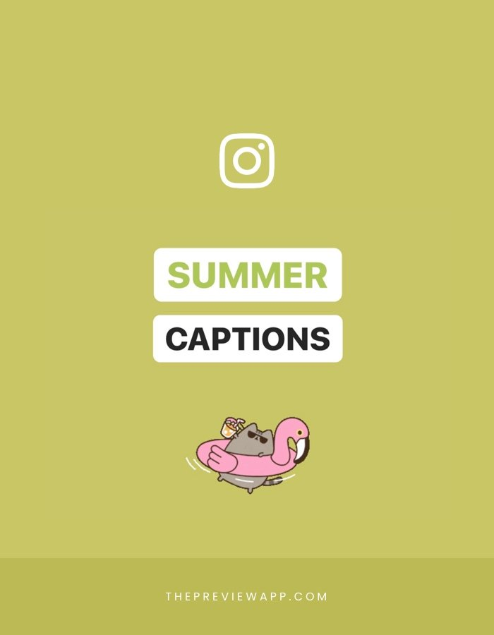 Best Summer Instagram Captions