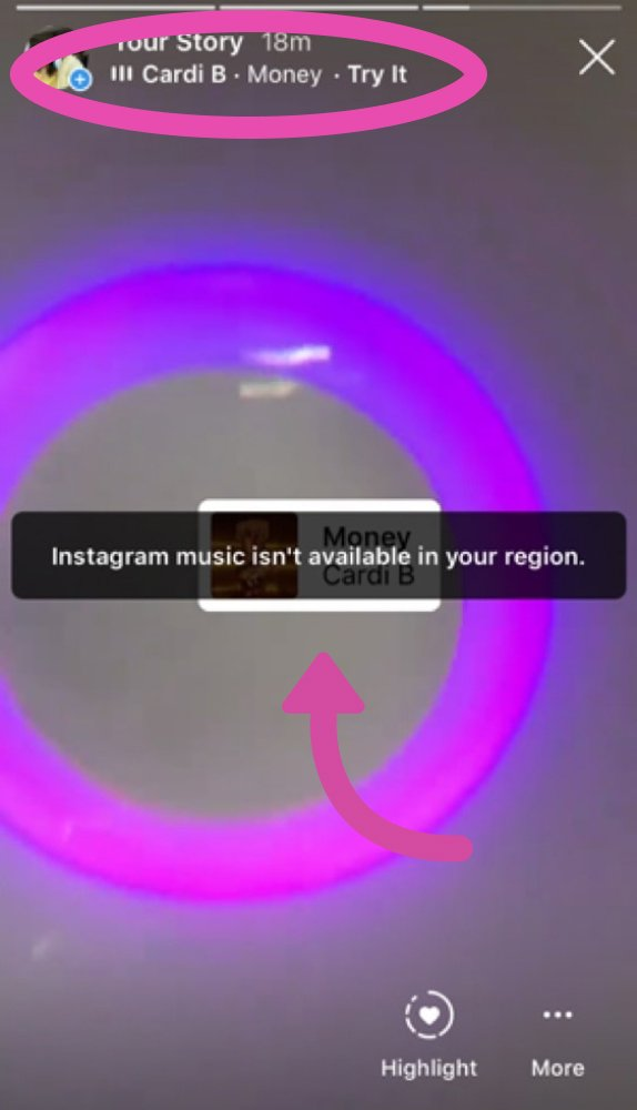 Music Feature on Instagram Reels