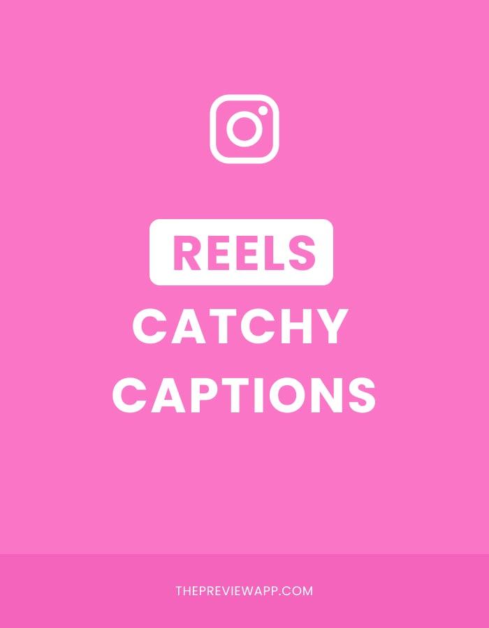 Instagram reels caption