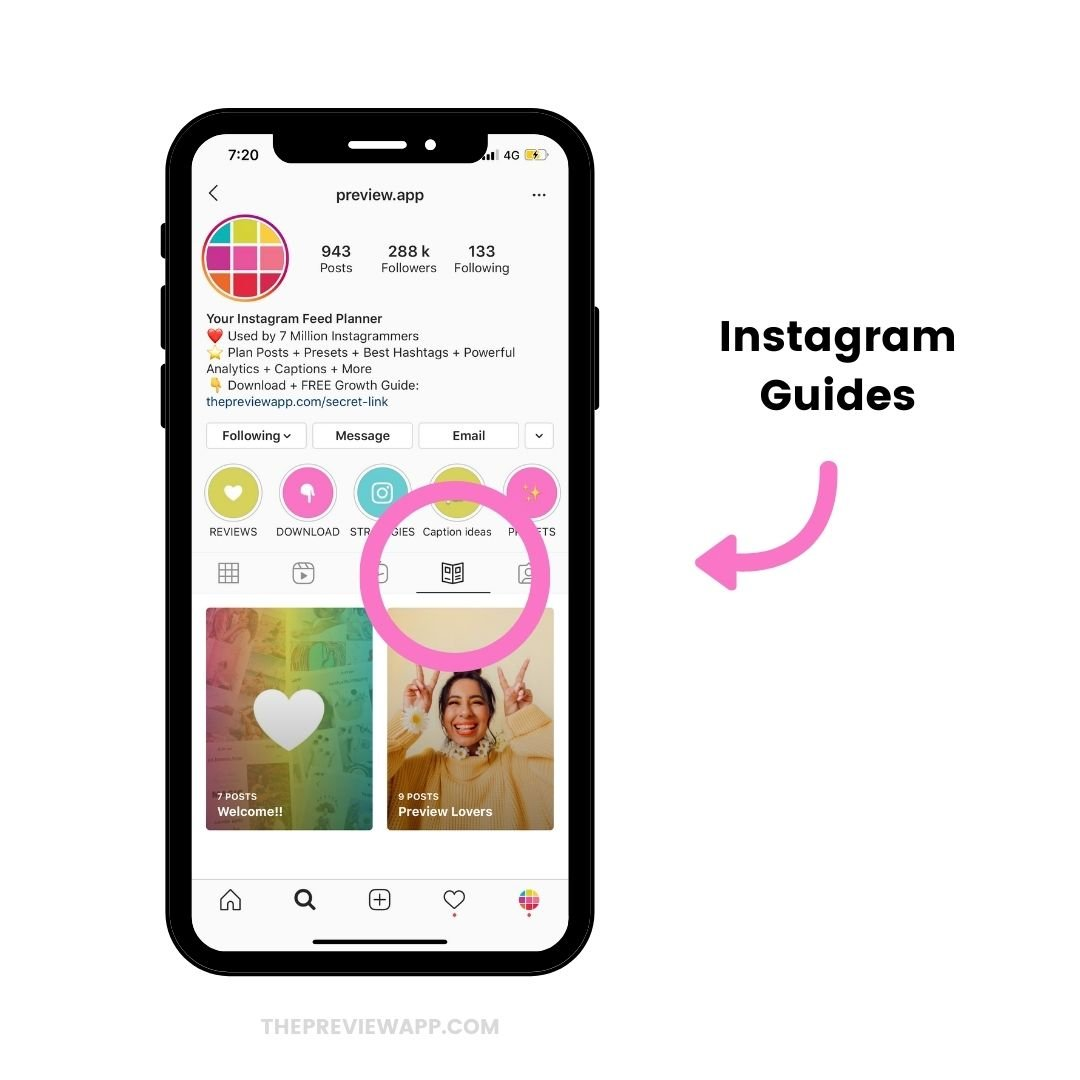 How to use Instagram Guides feature?
