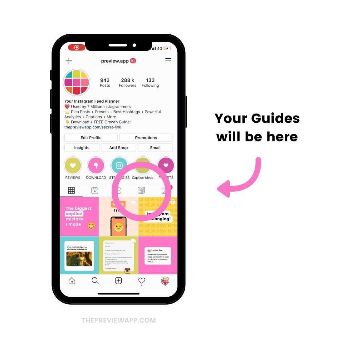 Instagram Guides feature