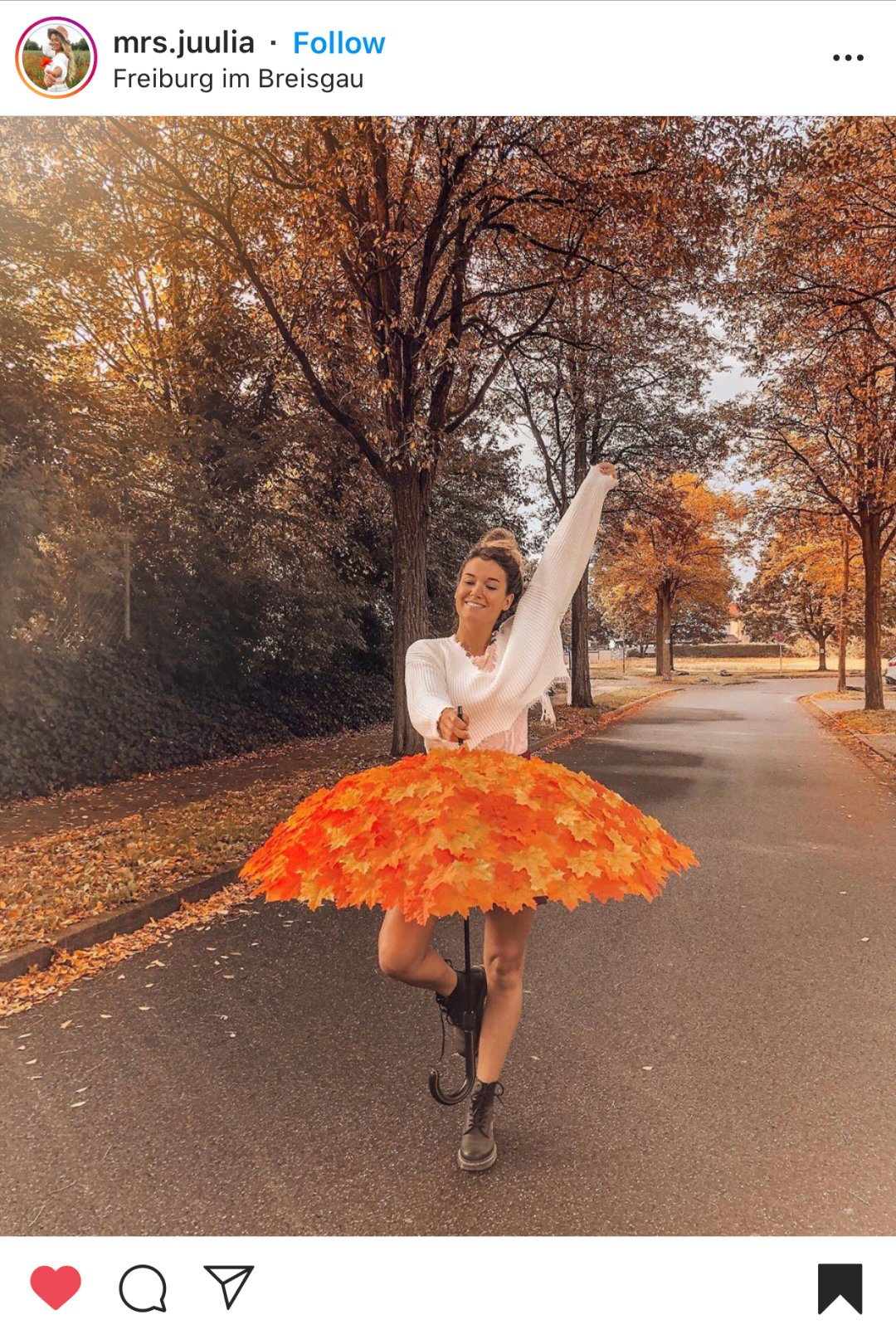 Best Instagram Fall Photo Ideas