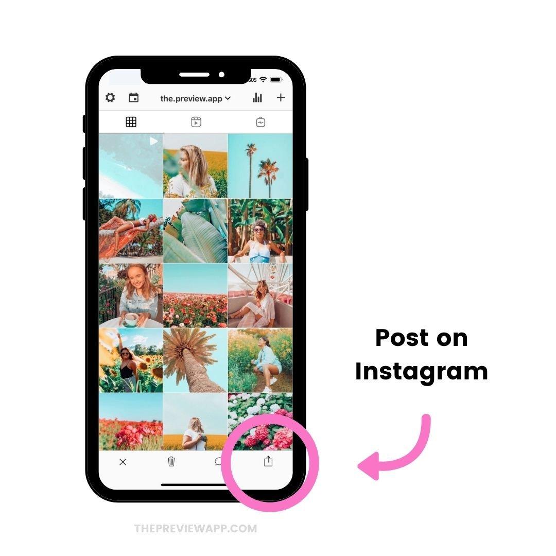 change Instagram Video Thumbnail
