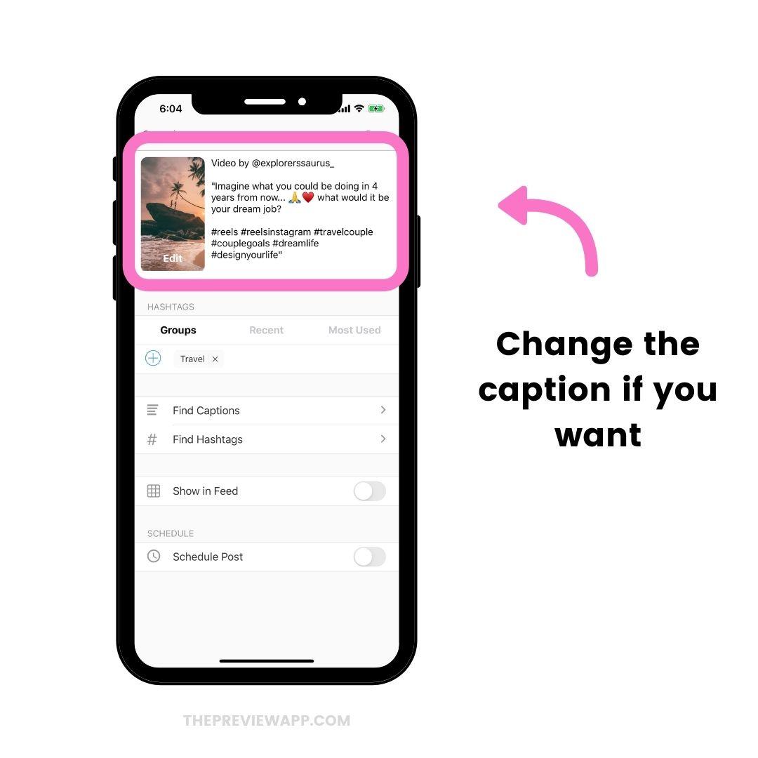 How to Repost Instagram Reels