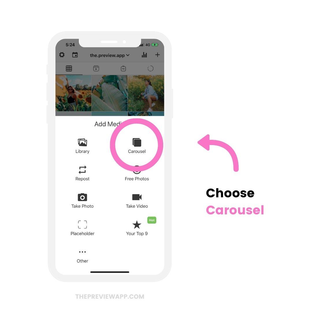How to schedule Instagram Carousel Posts