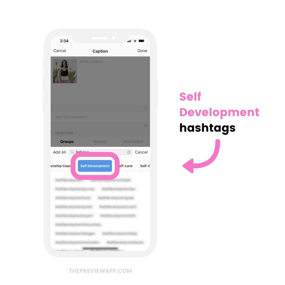 self love instagram hashtags