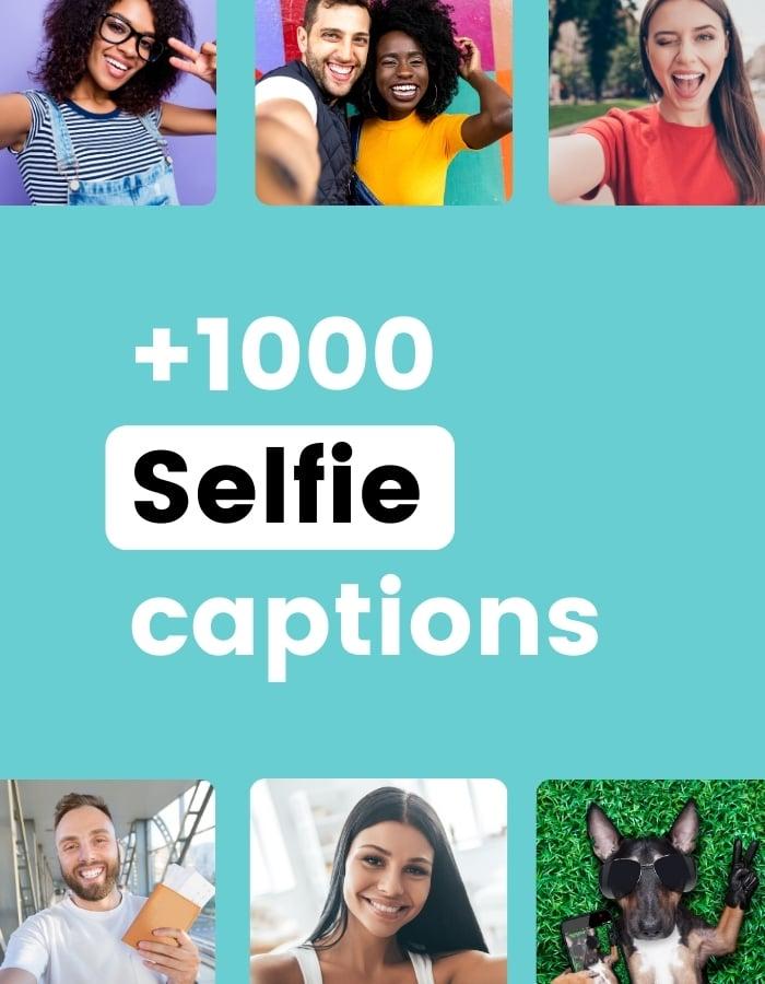 Best Instagram captions for selfies in Preview app