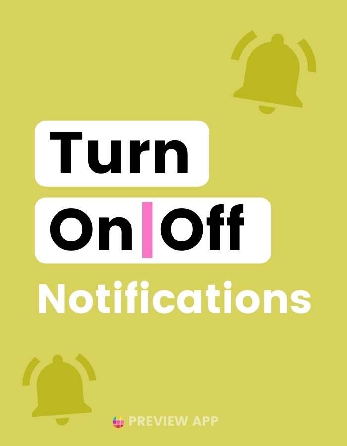 How to turn on or off post and push notifications on Instagram